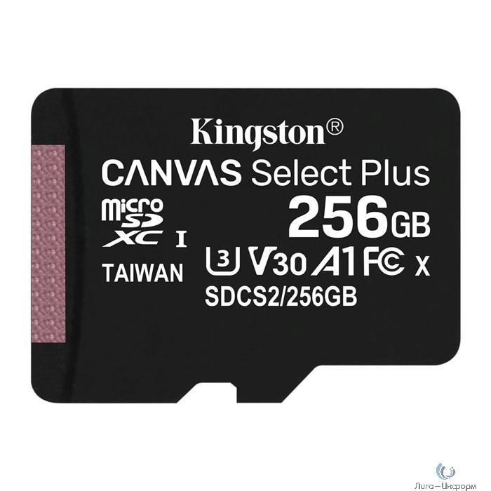Micro SecureDigital 256Gb Kingston SDCS2/256GBSP {MicroSDXC Class 10 UHS-I}