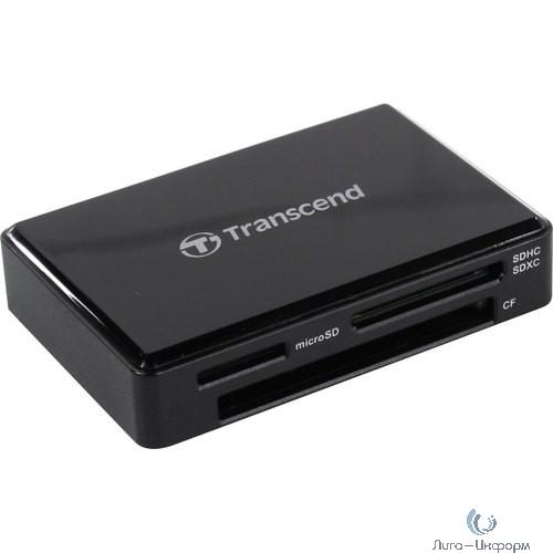 Считыватель карты памяти Transcend USB3.1 Gen1 All-in-1 Multi Card Reader,Type C