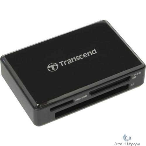 Считыватель карты памяти Transcend USB3.1 Gen1 All-in-1 UHS-II Multi Card Reader