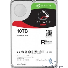 "10Tb Seagate IronWolf Pro (ST10000NE0008) {SATA 6Gb/s, 7200rpm, 256Mb, 3.5""}"