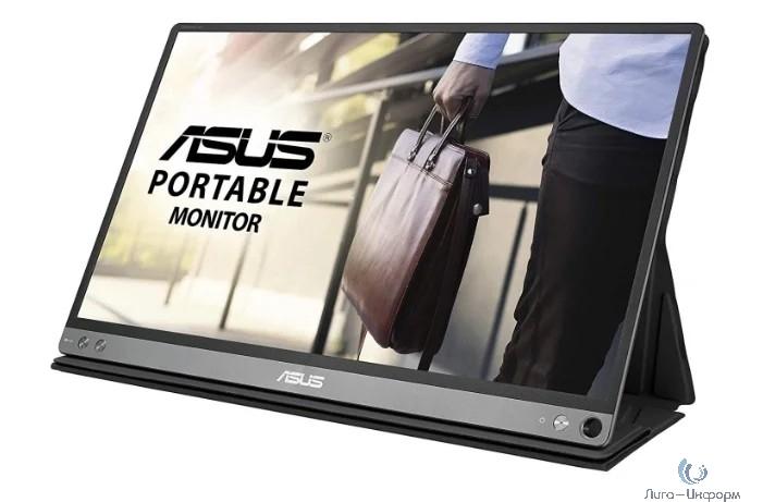 "ASUS LCD 15.6"" MB16AP Black (IPS, LED, Wide, 1920x1080, 178°/178°, 220 cd/m, 800:1, +USB, )"