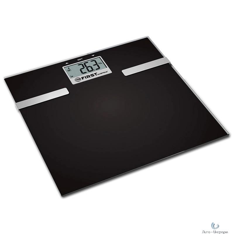 FIRST FA-8006-3-BA Весы напольные, электронные, максимальный вес : 150 кг. Цена деления: 100 .гр.Автоотключение.