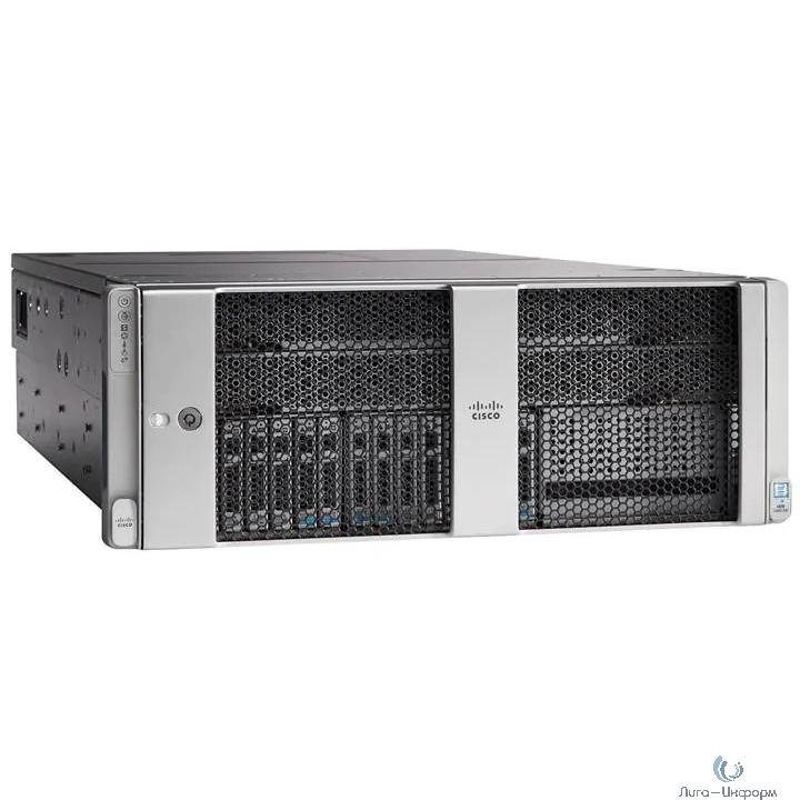 UCSC-C480-M5= Шасси сервера UCS C480 M5 Std base chassis w/o CPU, mem, HDD, PCIe, PSU