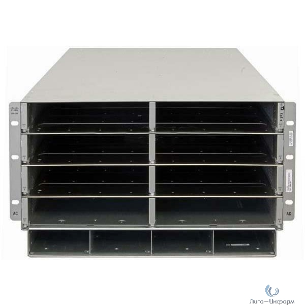 UCSB-5108-AC2 Сервер UCS 5108 Blade Server AC2 Chassis, 0 PSU/8 fans/0 FEX