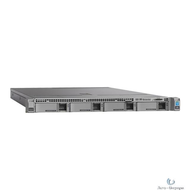 UCSC-C220-M4L Сервер UCS C220 M4 LFF w/o CPU, mem, HD, PCIe, PSU, rail kit