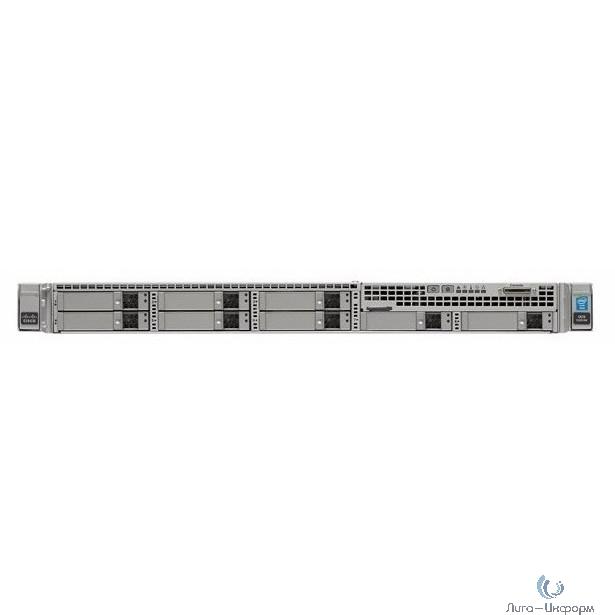 UCS-SPL-C220M4-S1 Сервер UCS SP Select C220M4S Standard1 w/2xE52630 v3 4x16GB VIC1227