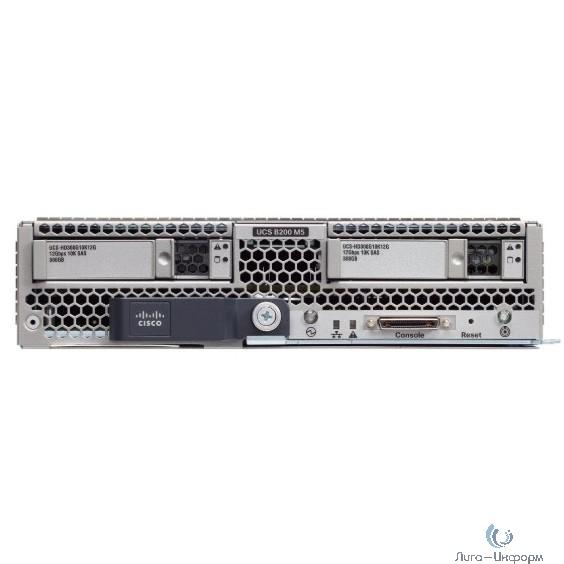 UCS-SP-B200M5-A3 Сервер SP B200 M5 w/2x5120,6x16GB mem,VIC1340