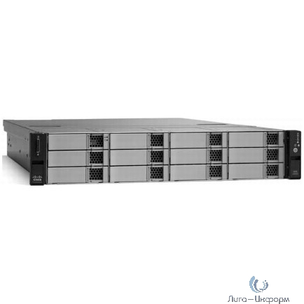 CPS-UCS-2RU-K9 Сервер Cisco Connected Safety and Security UCS C240 2-RU