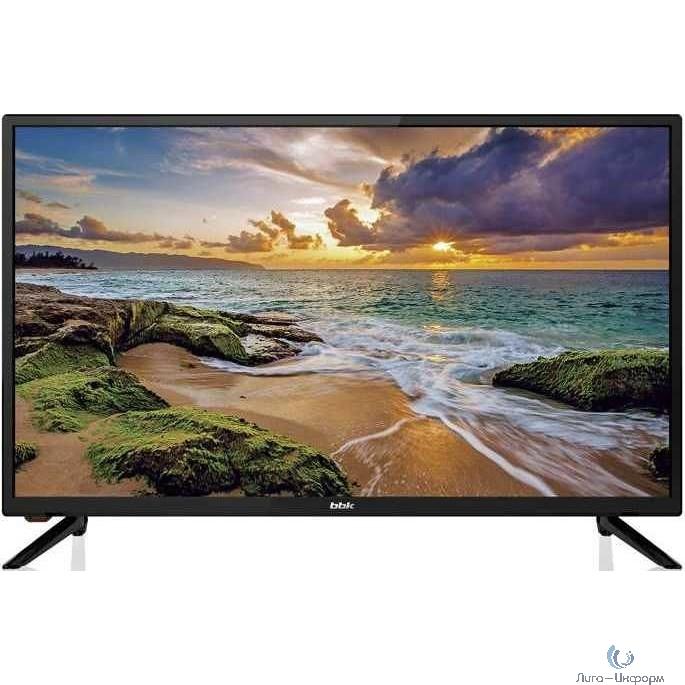"""BBK 32"""" 32LEM-1066/TS2C черный/HD READY/50Hz/DVB-T2/DVB-C/DVB-S2/USB (RUS)"""