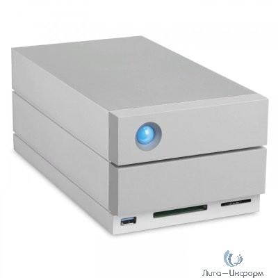 "LaCie STGB28000400 28TB 2big Dock Thunderbolt3 3,5"" 2  Thunderbolt3, 1USB 3.1, 1DisplayPort, 1USB 3.0 (type A), 1 SD card, 1CF card, 72"