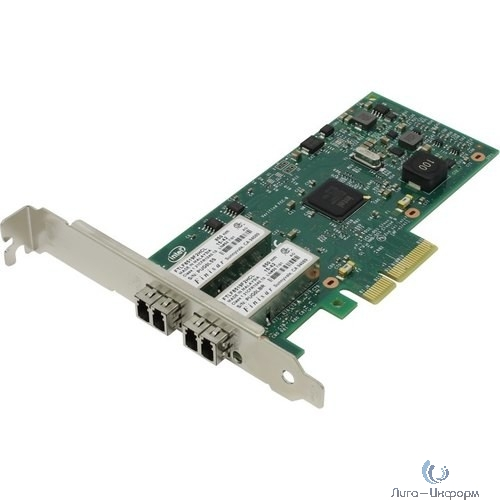 INTEL I350F2BLK Сетевая карта PCI Express 4x, 10/100/100M, Gigabit Ethernet, 2 ports