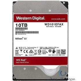 """10TB WD Red (WD101EFAX) {Serial ATA III, 5400- rpm, 256Mb, 3.5""""}"""