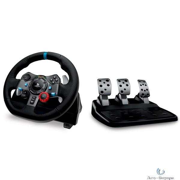 941-000112 Руль Logitech G29 Driving Force Racing 14кноп. (с педалями) черный
