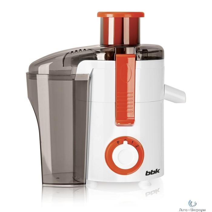 BBK JC060-H11 Соковыжималка, центробежая, белый/оранжевый