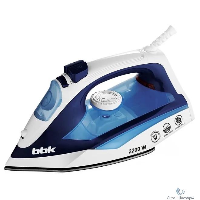 BBK ISE-2201 (DB)  Утюг, синий