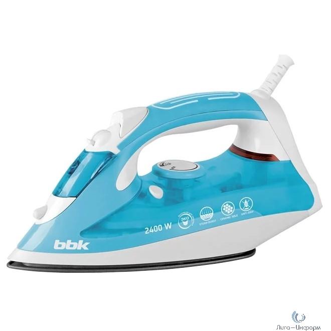 BBK ISE-2400 (TU) Утюг, 2400Вт, бирюзовый