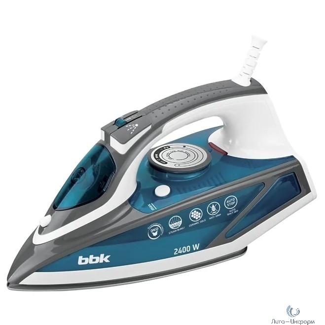 BBK ISE-2402 (BL) Утюг, синий
