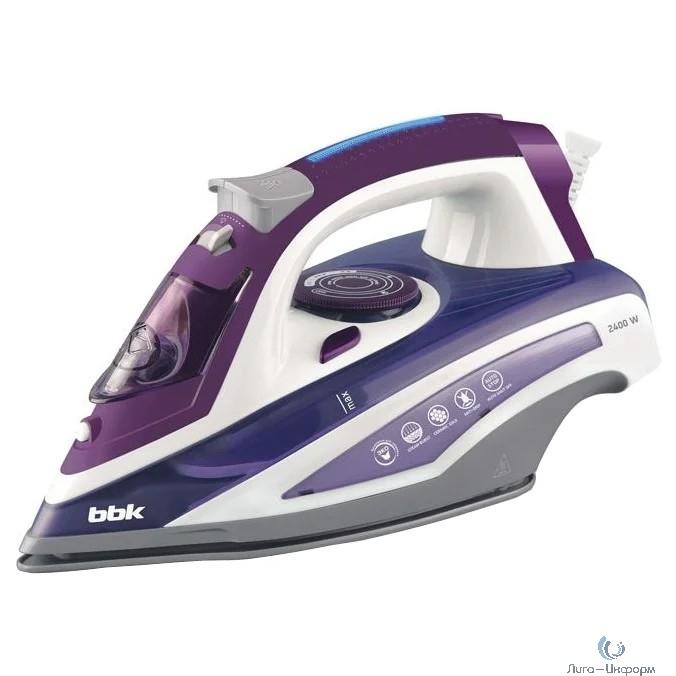 BBK ISE-2404 (V)  Утюг, фиолетовый