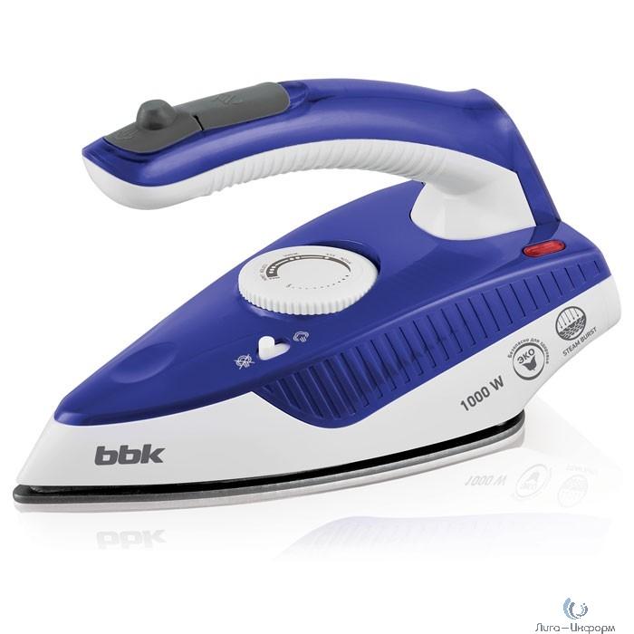 BBK ISE-1600 (BL) Утюг электрический, синий