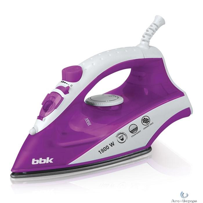 BBK ISE-1802 (V) Утюг электрический фиолетовый