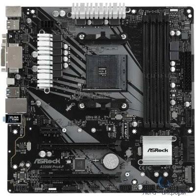 AsrockA320M PRO4-F {AMD AM4 A320/4DDR4/4SATA3}