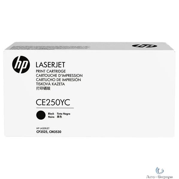 HP Картридж CE250YC 504 повышенной емкости (белая корпоративная коробка)