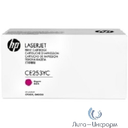 HP Картридж CE253YC Magenta 504 повышенной емкости (белая корпоративная коробка)