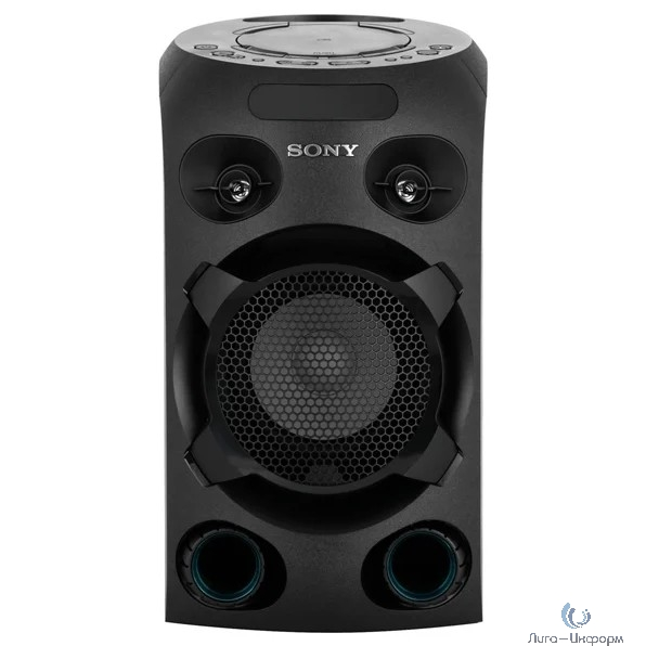 Музыкальный центр SONY MHC-V02, черный