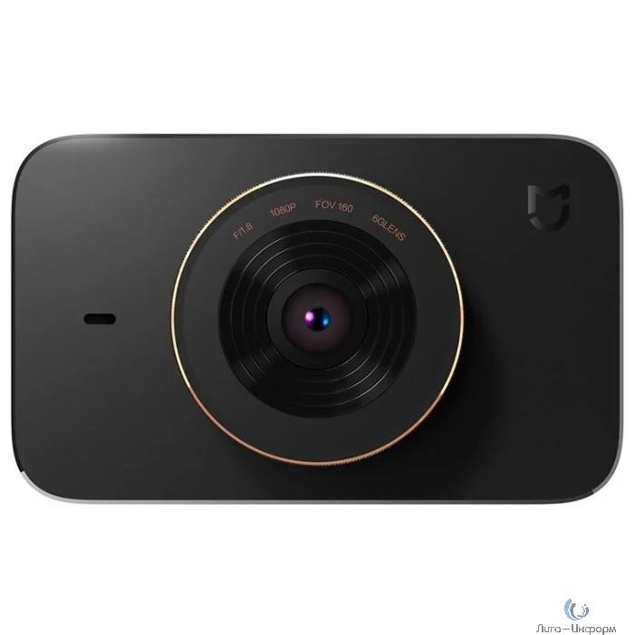Видеорегистратор Xiaomi Mi Dash Cam 1S черный 1080x1920 1080p 140гр. MSTAR-8328P