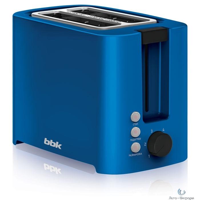 BBK TR81M (BL) Тостер синий