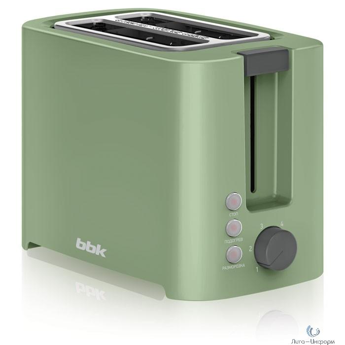 BBK TR81M (GN) Тостер зеленый