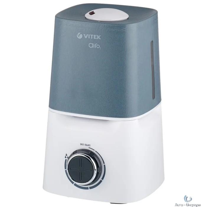 VITEK (VT-2334(W)) Увлажнитель воздуха  Мощ-ть 25 Вт Ультразвук. увлаж-ль Емкость для воды 3,5 л.