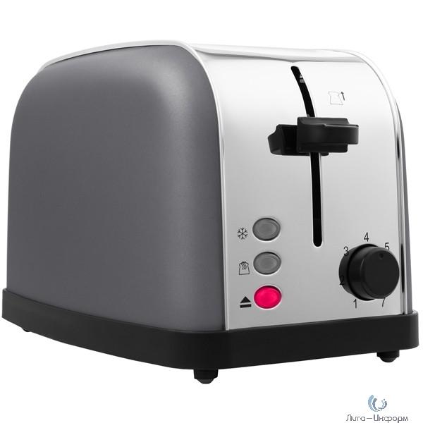 KITFORT KT-2014-6 Тостер .Мощность: 720-850 Вт.Длина шнура: 0,7 м.графит