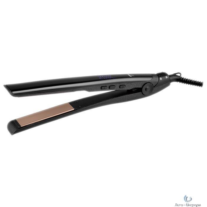 BBK BST3011IL (B/CM) Выпрямитель для волос, черный/шампань