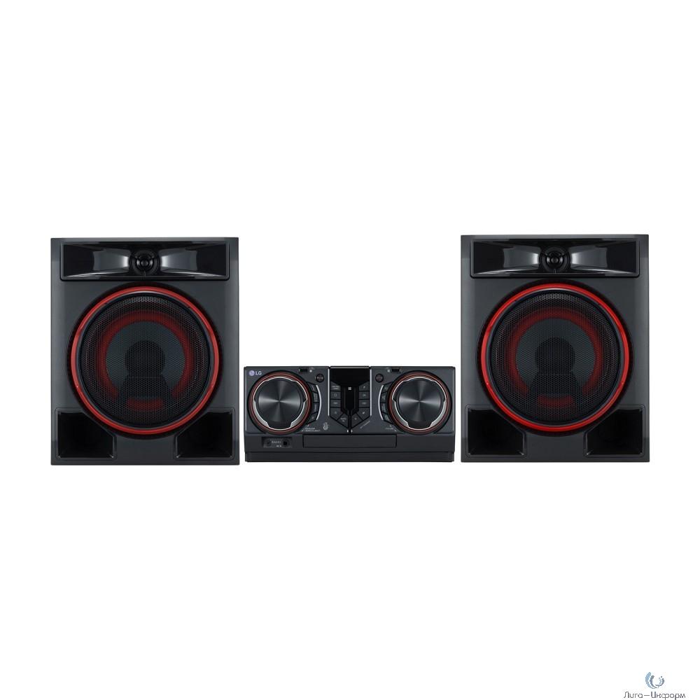 LG CL65DK черный 950Вт/CD/CDRW/DVD/DVDRW/FM/USB/BT (в комплекте: диск 2000 песен)