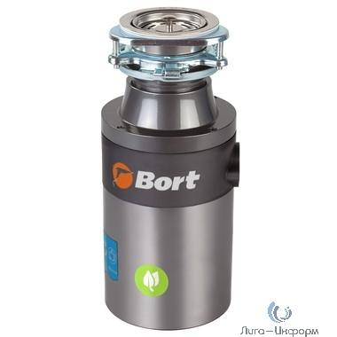 Bort Измельчитель пищевых отходов TITAN 4000 Plus {Мощность л.с. 0,75 ; 560 Вт; 4,2 кг/мин; 3200 об/мин; 1400 мл; набор аксессуаров 4 шт} [1275776]