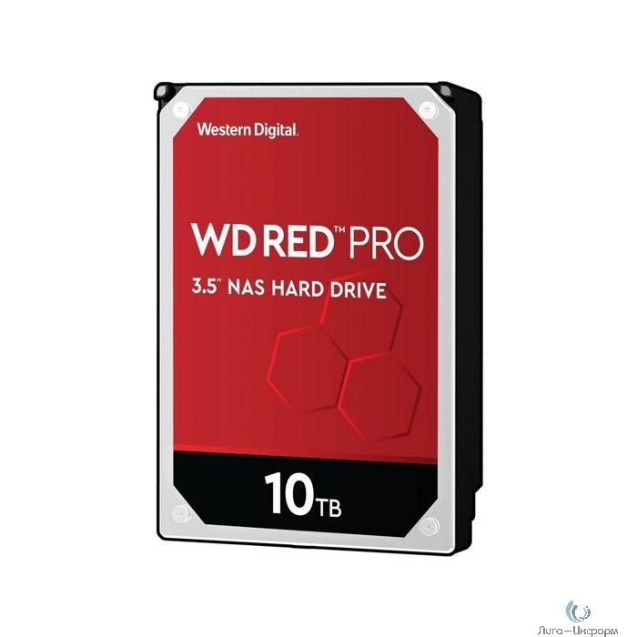 """10TB WD Red Pro (WD102KFBX) {Serial ATA III, 7200- rpm, 256Mb, 3.5""""}"""
