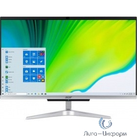 "Acer Aspire C24-963 [DQ.BEQER.00C] silver 23.8"" {FHD i3-1005G1/8Gb/256Gb SSD/W10Pro/k+m}"
