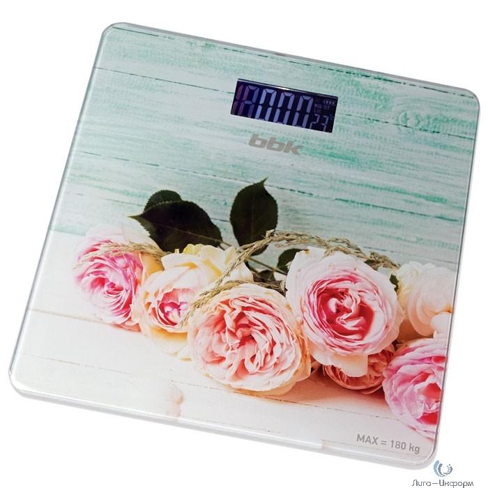 BBK BCS3003G (P) Весы напольные розовый