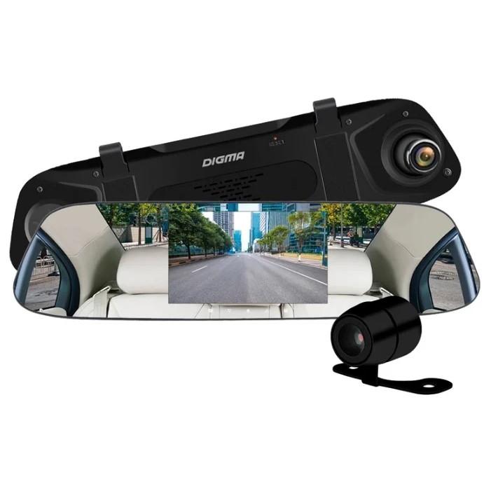 Видеорегистратор Digma FreeDrive 404 MIRROR DUAL черный 2Mpix 1080x1920 1080p 170гр. GP6248 [1139144]