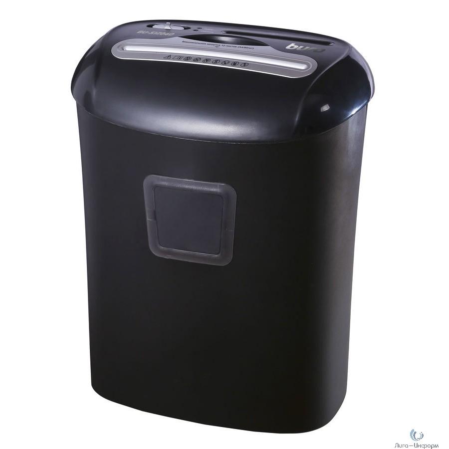 Buro Уничтожитель Office BU-S1204D (секр.P-4)/фрагменты/12лист./21лтр./пл.карты/CD {1061646}
