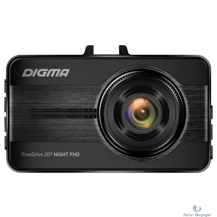 Видеорегистратор Digma FreeDrive 207 Night FHD черный 2Mpix 1080x1920 1080p 150гр. GP6248 [1070523]