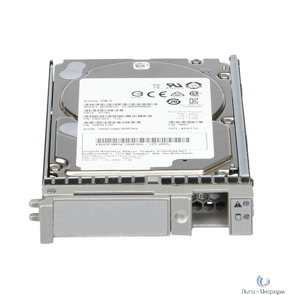 UCS-HD600G10K12N= 600GB 12G SAS 10K RPM SFF HDD