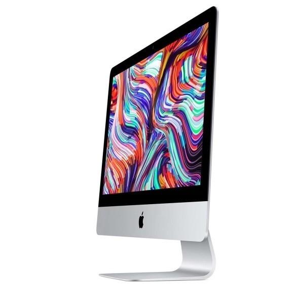 """Apple iMac [MHK33RU/<wbr>A] Silver 21.5"""" Retina 4K (4096x2304) i5 3.0GHz (TB 4.1GHz) 6-core 8th-gen/<wbr>8GB/<wbr>256GB SSD/<wbr>Radeon Pro 560X 4GB (2020)"""