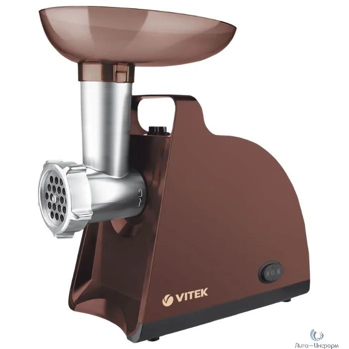 VITEK VT-3612(BN) Мясорубка  Мощность 1700 Вт.Материал корпуса пластик.Номинальная мощность 300 вт.