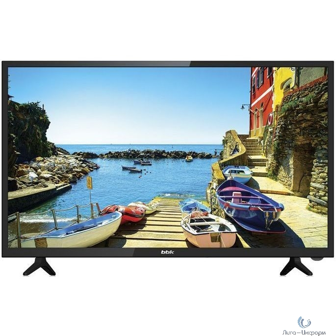 "BBK 39"" 39LEX-7168/TS2C черный/HD READY/50Hz/DVB-T2/DVB-C/DVB-S2/USB/WiFi/Smart TV (RUS)"
