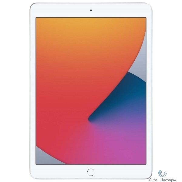 Apple iPad 10.2-inch Wi-Fi 32GB + Cellular - Silver [MYMJ2RU/A] (2020)