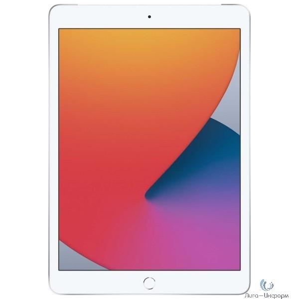 Apple iPad 10.2-inch Wi-Fi 128GB + Cellular - Silver [MYMM2RU/A] (2020)