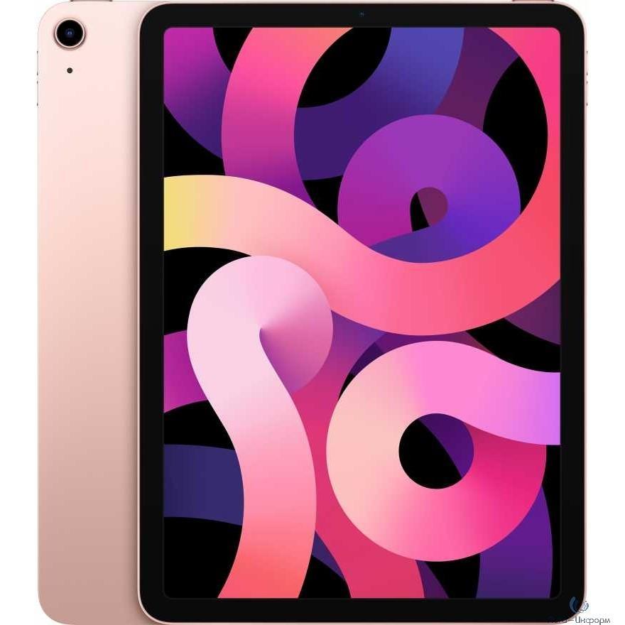 Apple iPad Air 10.9-inch Wi-Fi 256GB - Rose Gold [MYFX2RU/A] (2020)