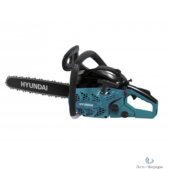 HYUNDAI [X 5320] Бензопила { двигатель HYUNDAI IC53 2-x такт, возд. охл., 2.5 / 3.4 кВт/л.с.,53 см3, 1.5 мм, 5.1 кг }
